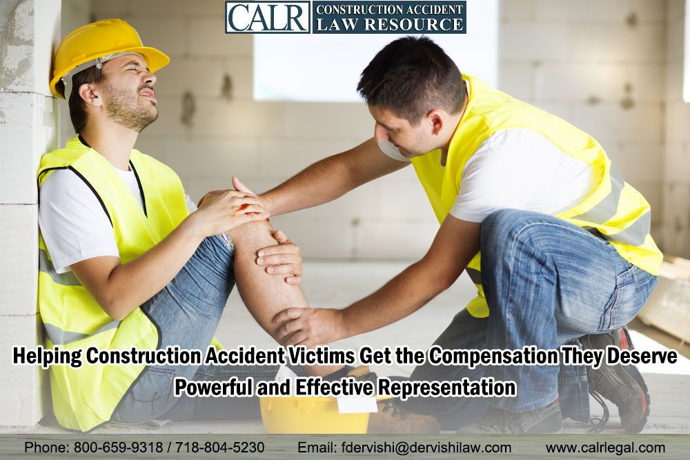Helping Construction Accident Victims Get the Compensation