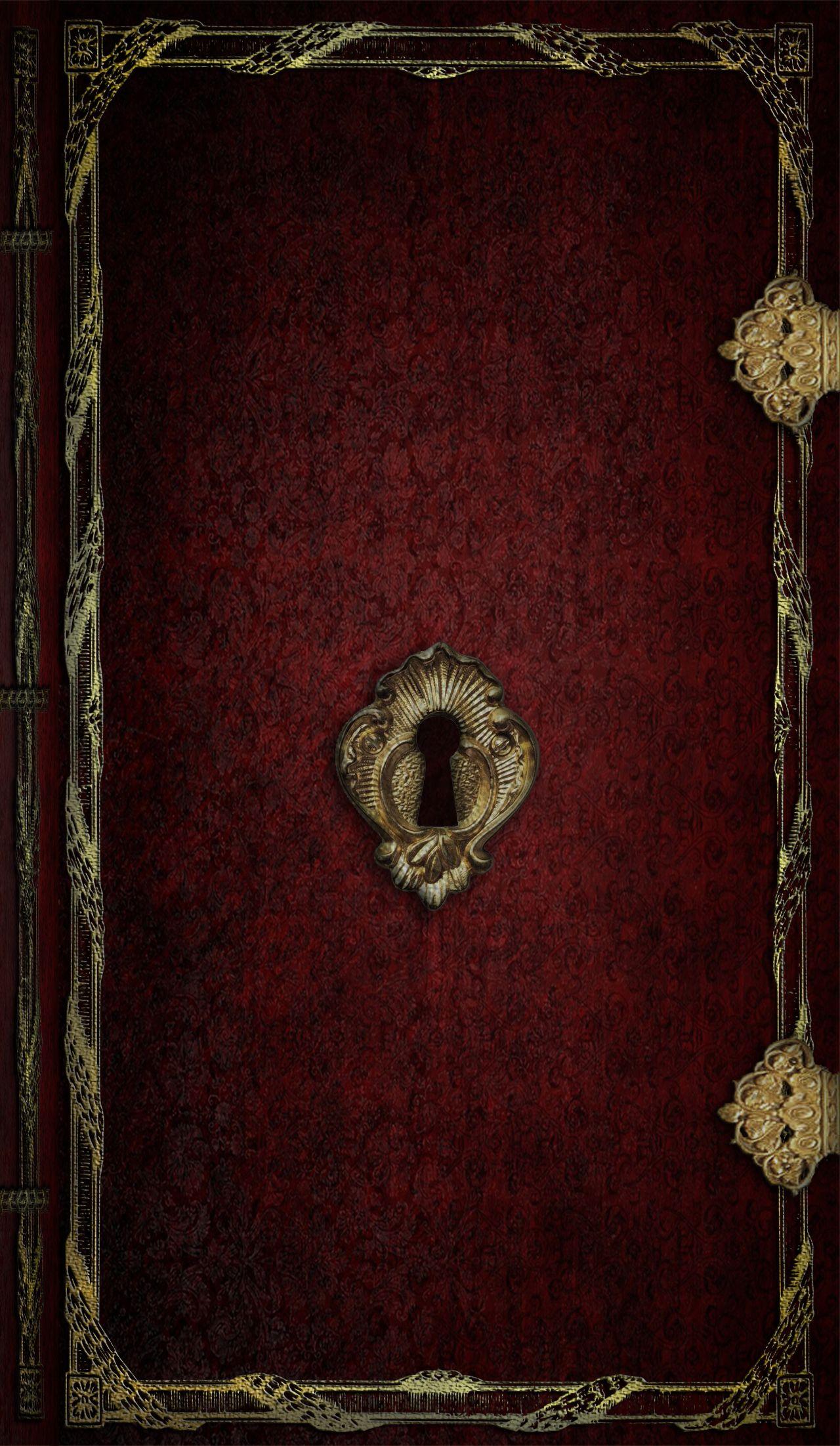 Locked Book IPhone Wallpaper Gold wallpaper iphone