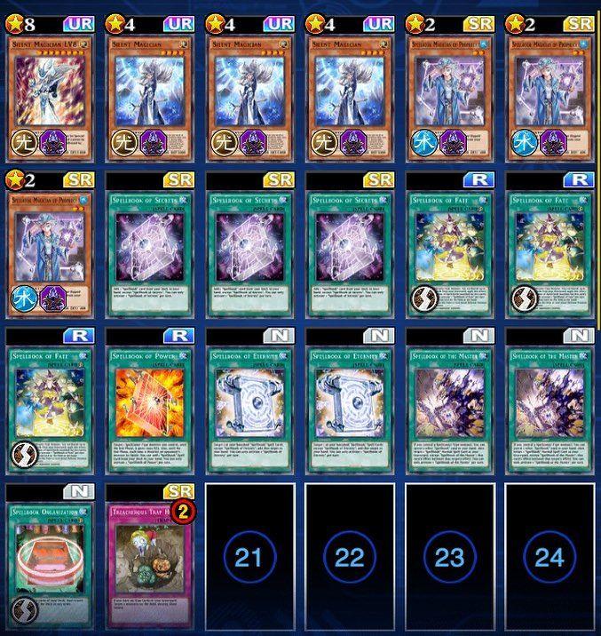 10/2018 After banlist Spellbooks deck for KoG ) yugioh