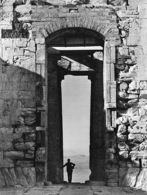 fred boissonnas / from the parthenon (1900)