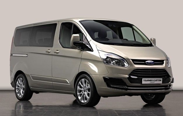 Ford Tourneo Custom Concept Previews New European People Mover