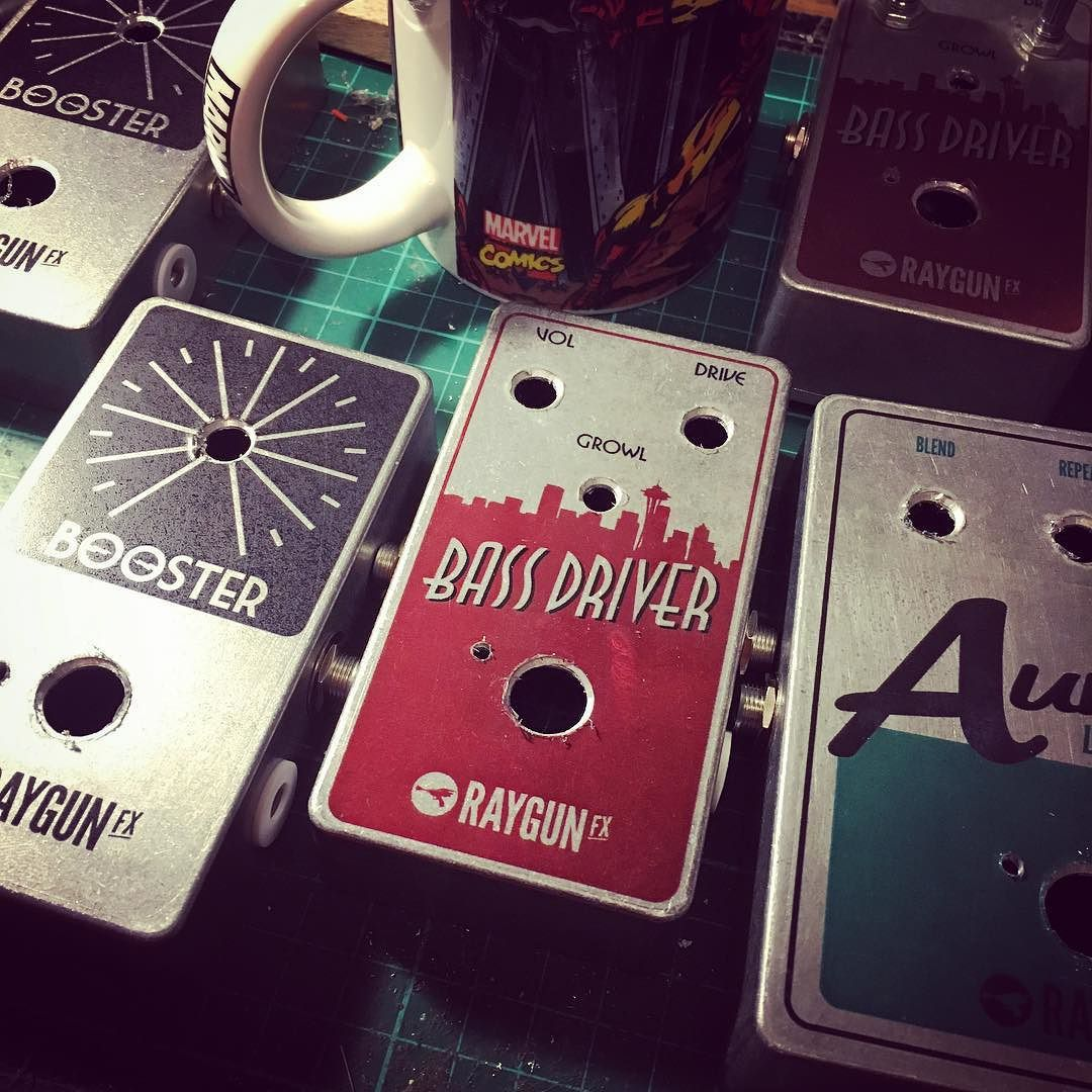 Busting through some pedals tonight! #bassdriver #aurora #lofi  fuzzboxes.co.uk