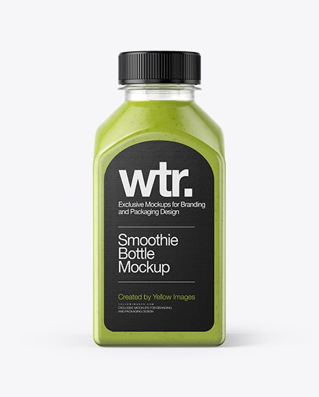 Square Green Smoothie Bottle Mockup In Bottle Mockups On Yellow Images Object Mockups Bottle Mockup Mockup Free Psd Mockup Free Download