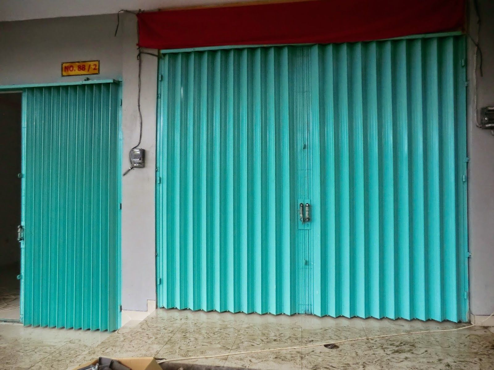 DAFTAR HARGA ROLLING DOOR DAN FOLDING GATE : Harga Folding Gate ...