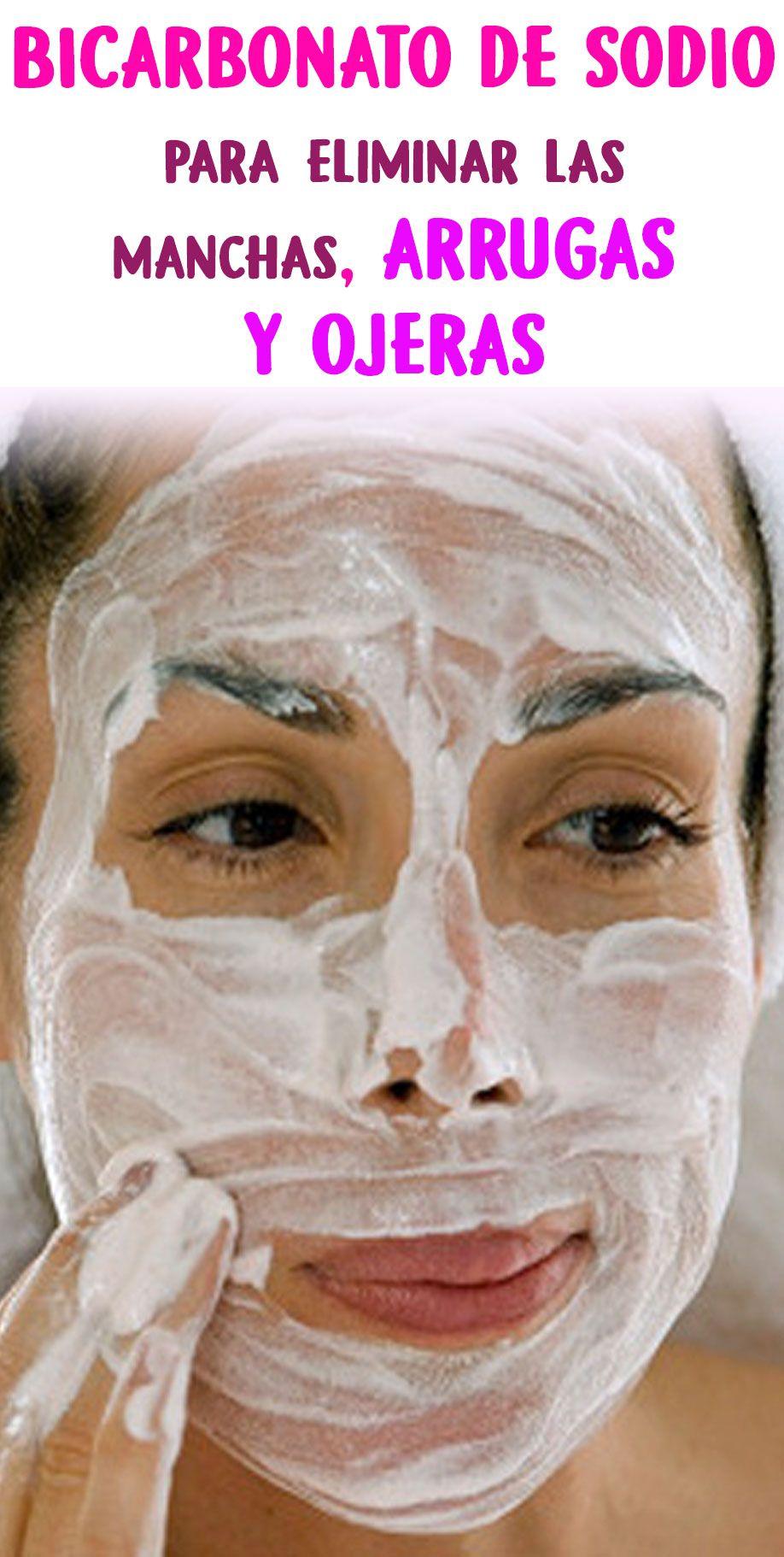 Bicarbonato de sodio para eliminar las manchas, arrugas y ojeras