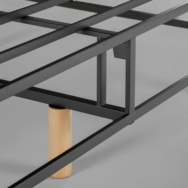 amazon com zinus quick snap standing mattress foundation platform