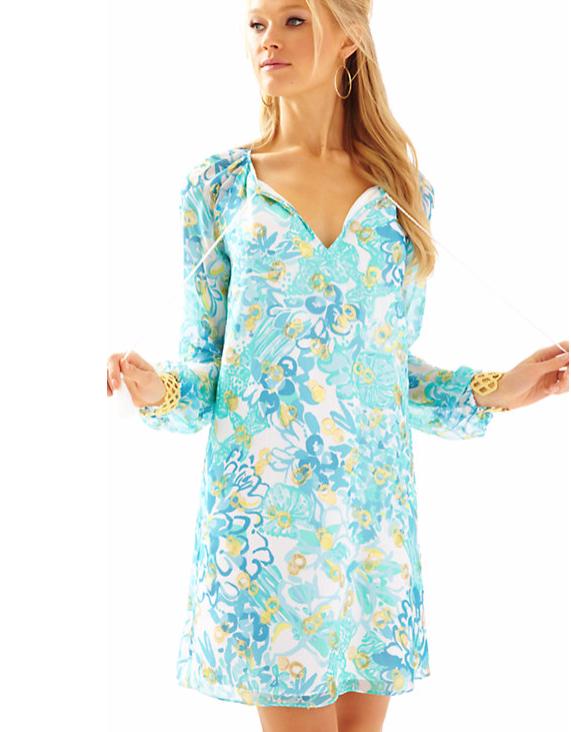Lilly Pulitzer Saria Tunic Dress.