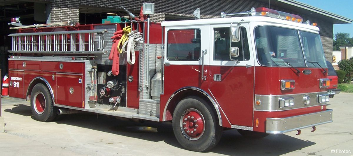 Used Fire Truck 1988 Pierce Arrow For Sale At Firetec Used