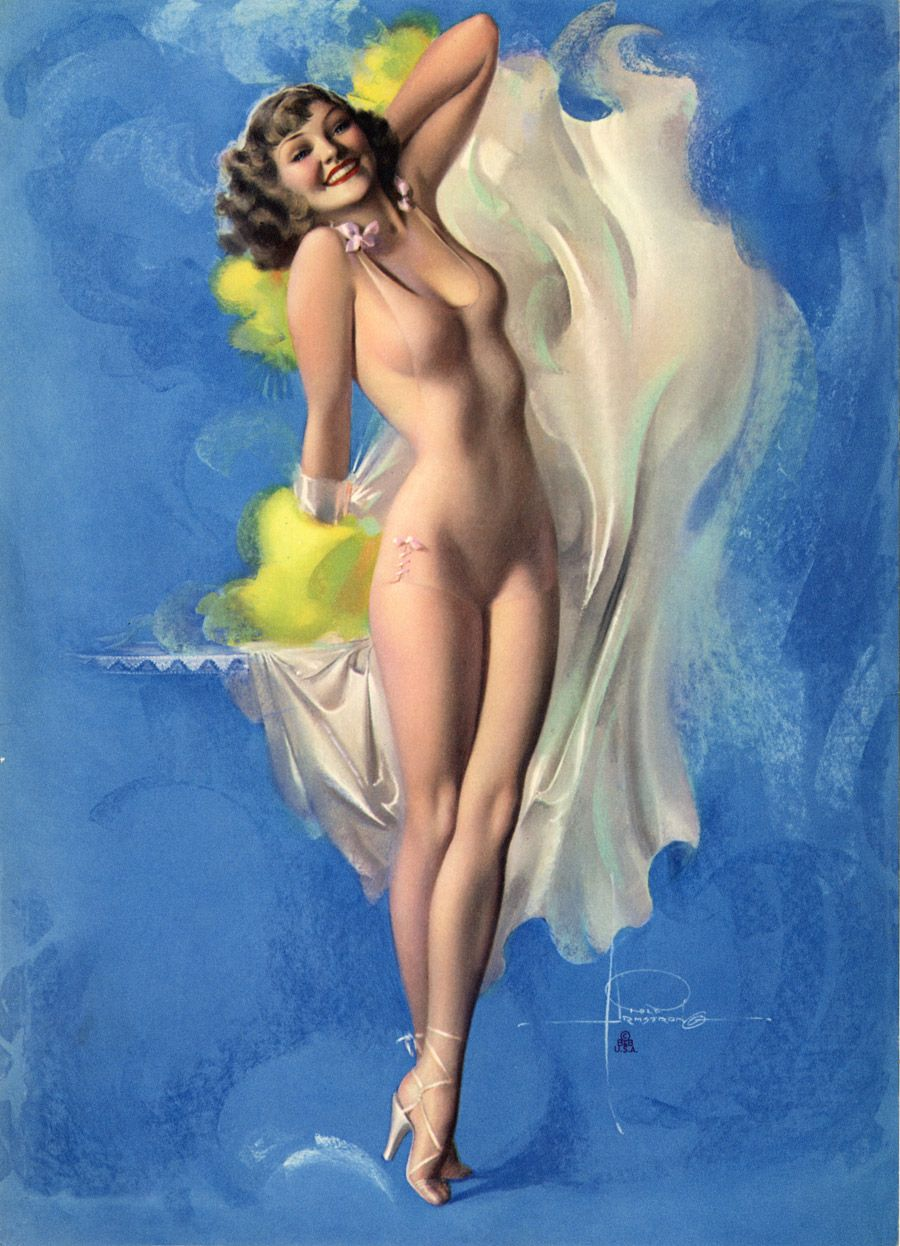 Pin-up_Rolf Armstrong