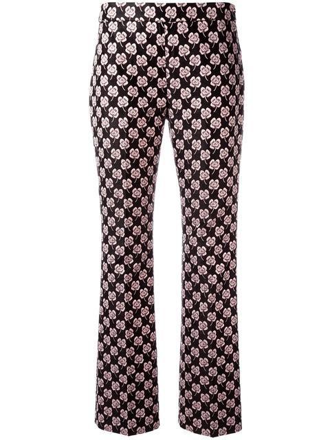 470b19a69bb7 GIAMBA Floral Jacquard Trousers.  giamba  cloth  trousers