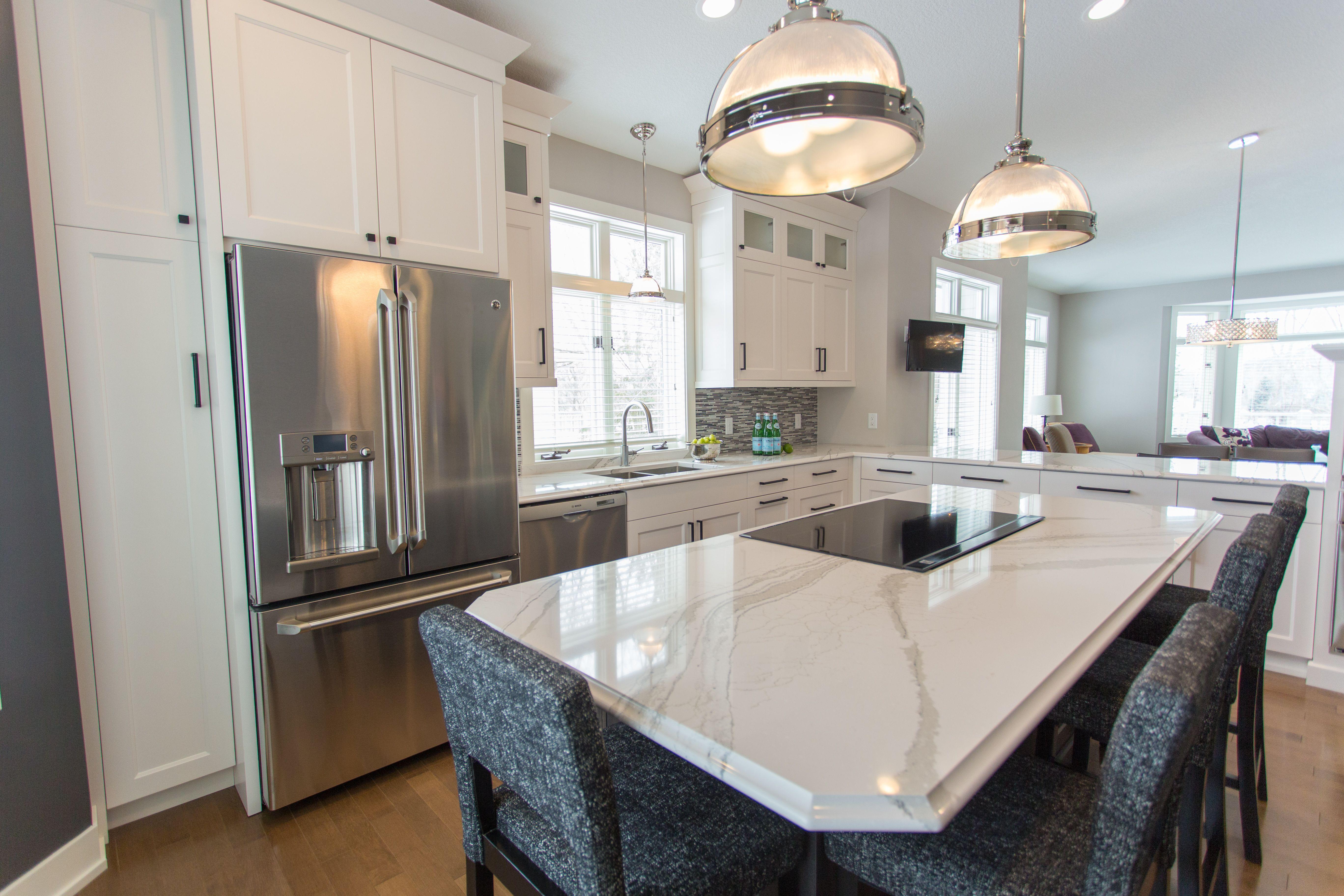 Eden Prairie Kitchen remodel cambriaquartz Britannicca