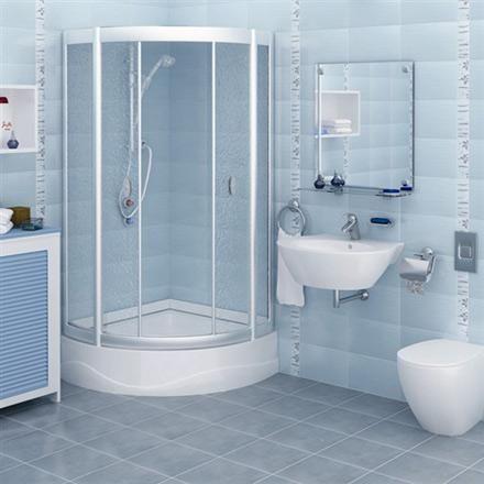 Superbe Blue Bathroom Wall Tile | Beautiful Sky Blue Color For Small Bathroom Wall  Tiles)