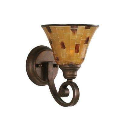 Concord 1-Light Bronze Sconce | country bathrooms | Pinterest ...