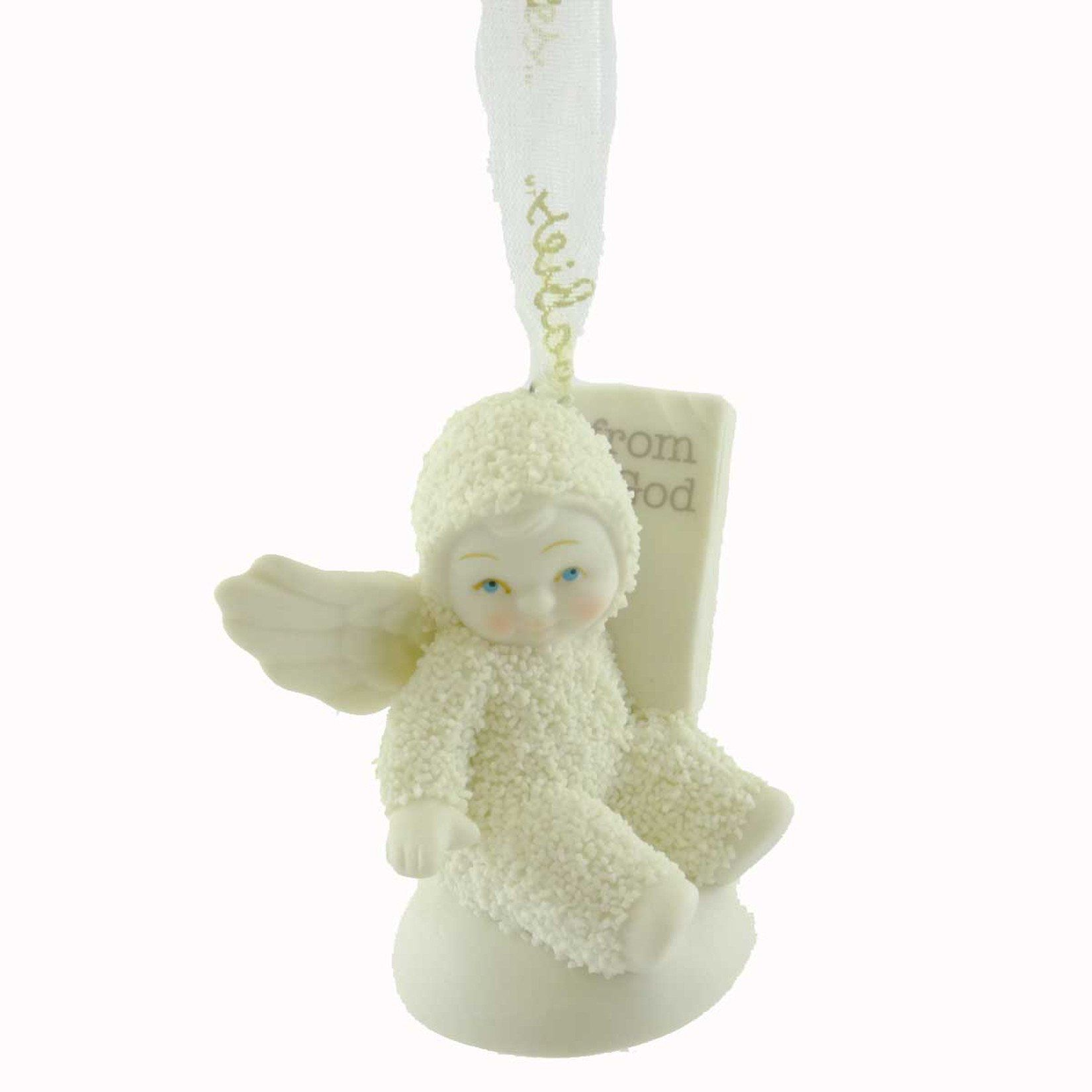 Dept 56 Snowbabies From God Ornament Resin Ornament