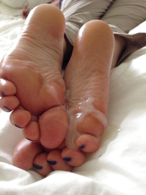 Cum On Female Feet 17