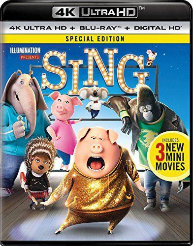 Sing - Special Edition (4K Ultra HD + Blu-ray + Digital HD)