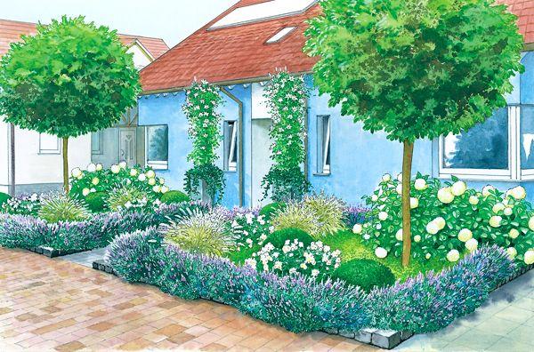 Vorgarten im Doppel-Pack   Gärten, Vorgärten und Außenanlagen