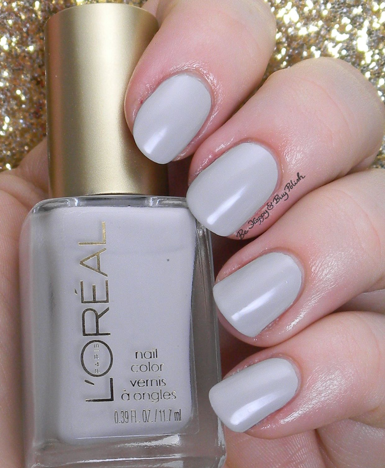 L\'Oreal Dark Sides of Grey nail polishes swatches + review | Grey ...