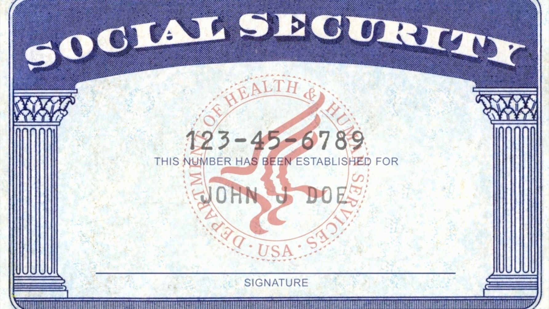 7 Blank Social Security Card Template Download Timesheet Conversion Social Security Card Id Card Template Card Templates Free