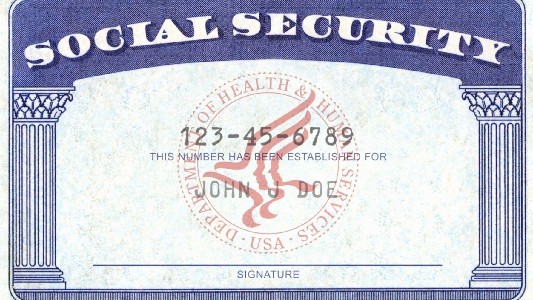 Social Security Card Template Pdf 10 Quick Tips Regarding Pertaining To Ssn Card Template Cumed Org Social Security Office Social Security Card Security