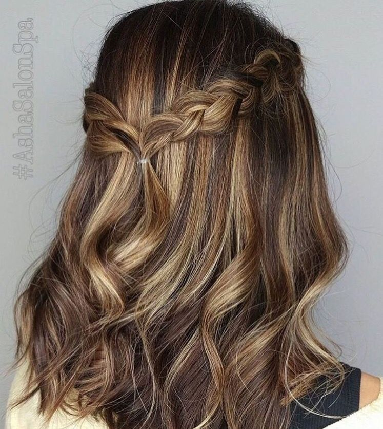 A Great Style Starts With a Great Cut - Allen Ruiz. We love this cut & braided style by Oliver at #ashawoodfield. #ashasalonspa #cutehairstylesformediumhair