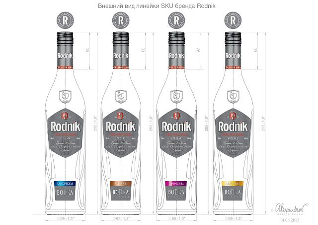 Rodnik Vodka on Packaging of the World - Creative Package Design Gallery