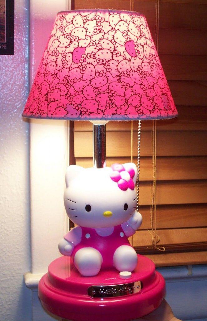 Cute Hello Kitty Lampshade Room Decor Pinterest Hello Kitty - Hello kitty lamps for bedroom