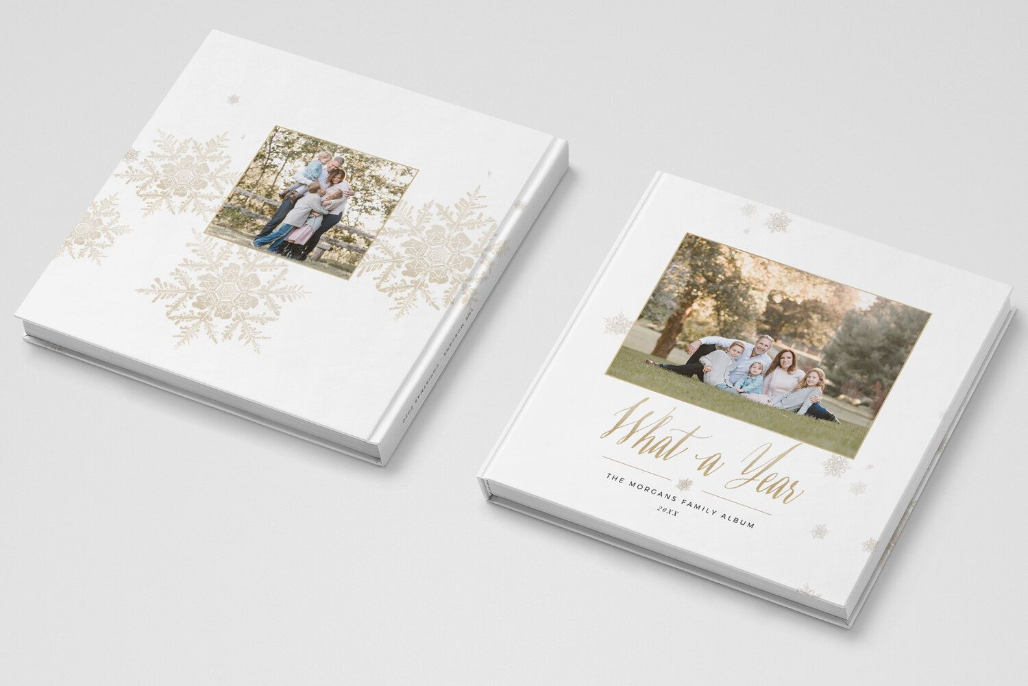 Photo Book Cover Template For Photographers Christmas Photo Album Cover Template By Stephanie Design Photo Book Cover Photo Album Covers Book Cover Template