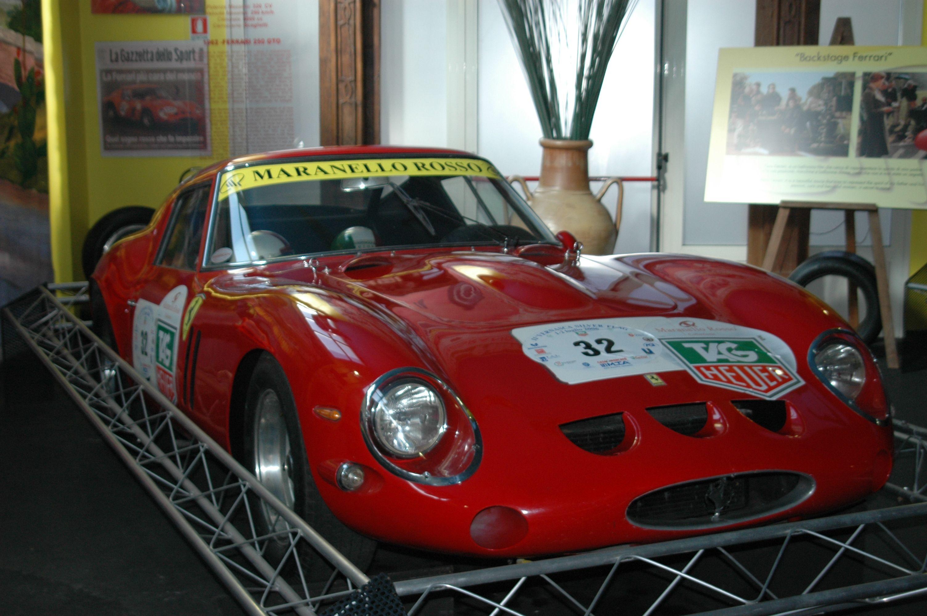 Maranello Rosso Ferrari Museum In San Marino San Marino Maranello Classic Cars
