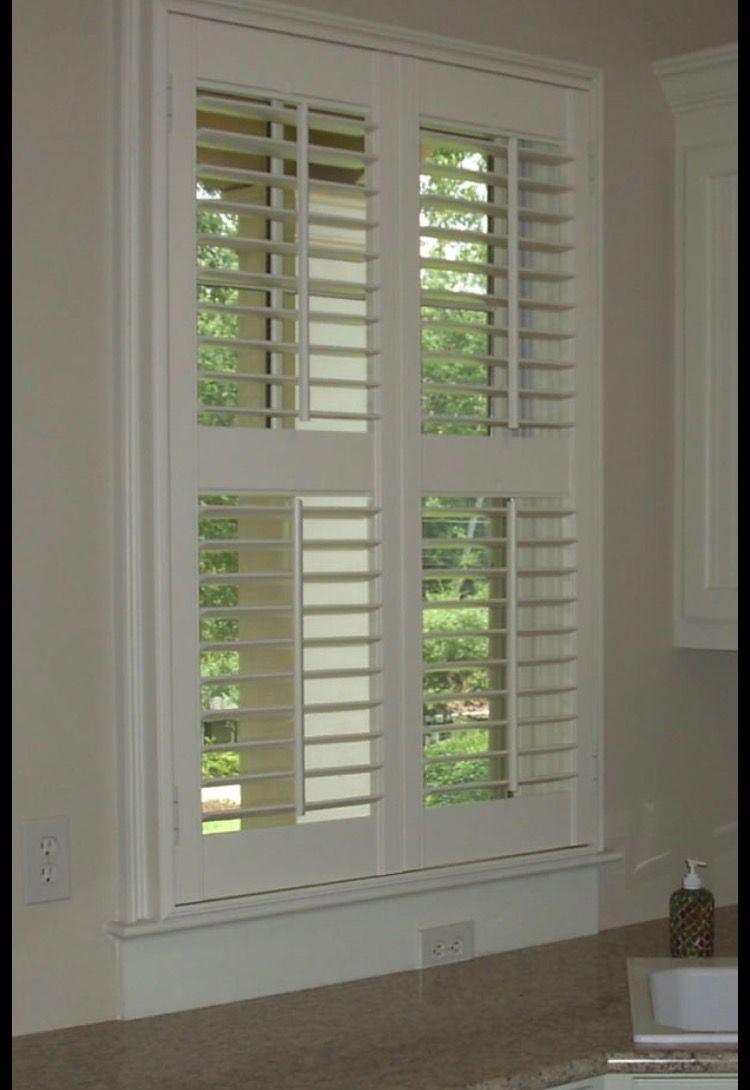 Pin by California Window Fashions on Shutters. Louvered