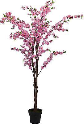 Artificial 160cm Pink Blossom Tree Pink Blossom Tree Blossom Trees Artificial Trees