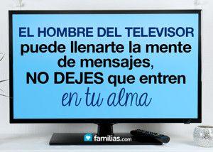 La voz del televisor y el concepto de felicidad que te vende
