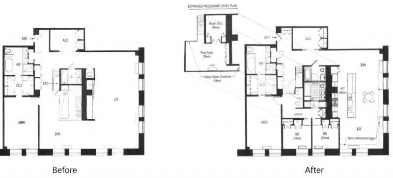 Luxury Loft Apartment Renovation by Guillaume Gentet Luxury loft