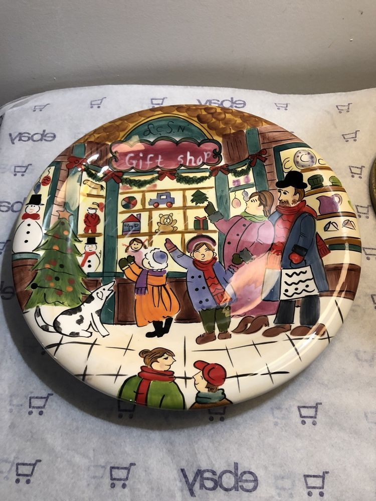 Christmas Platters For Sale.Details About Christmas Serving Platter Plate 10 Sapota