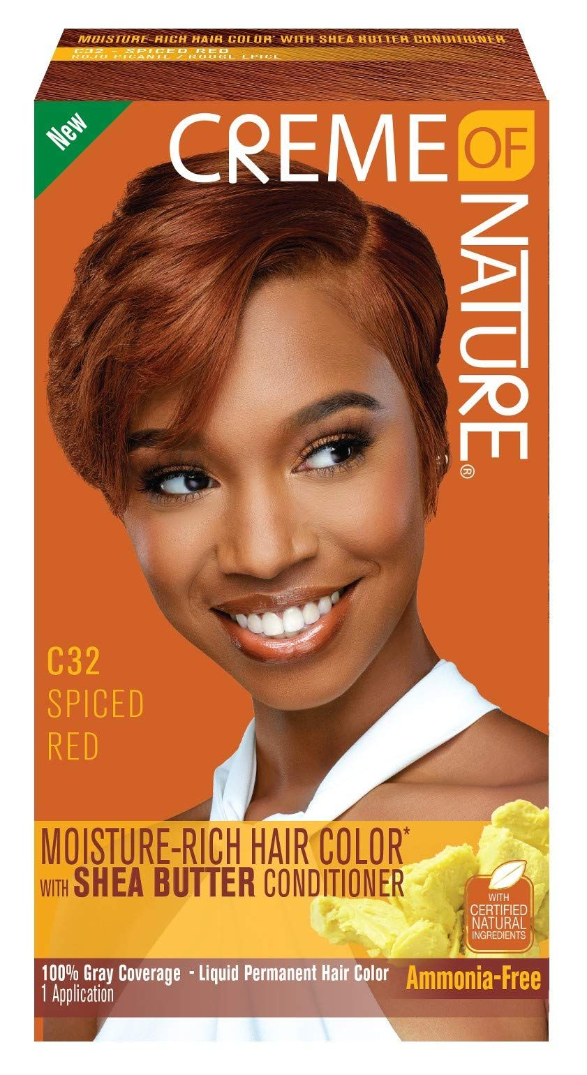 Creme Nature Color Spiced Pack Permanent Hair Color Hair Color Red Hair Color