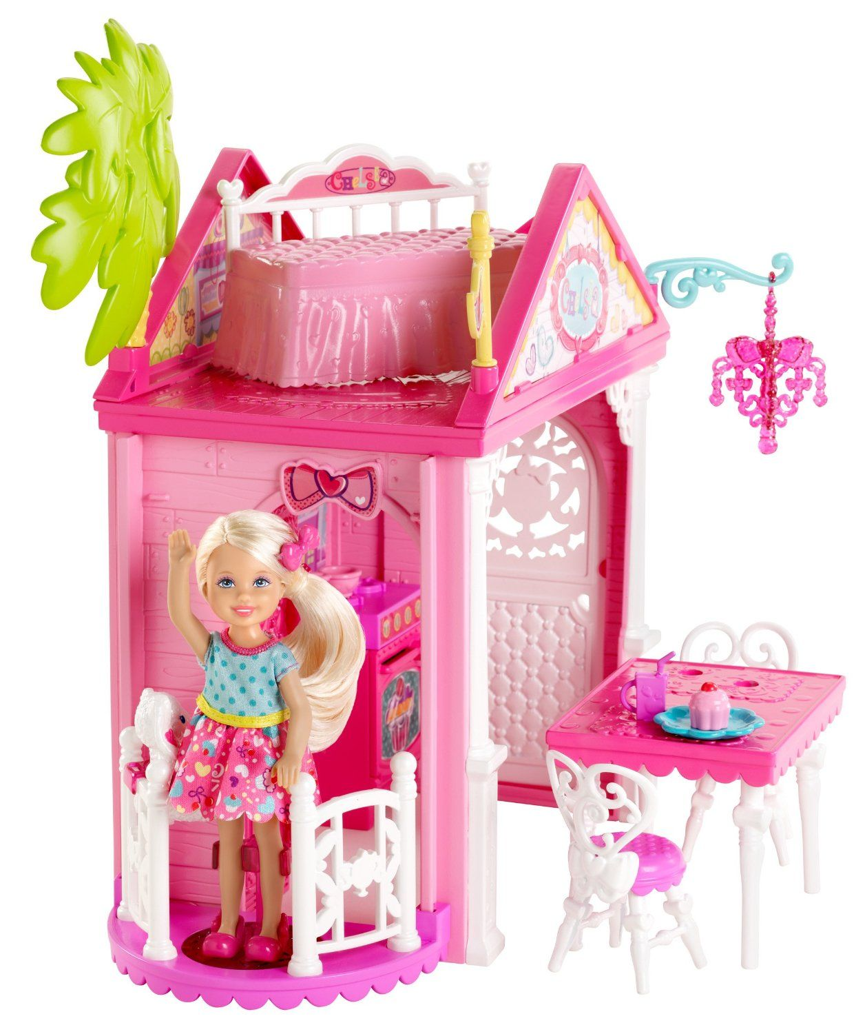 Barbie deluxe furniture stovetop to tabletop kitchen doll target - Barbie Chelsea Doll And Clubhouse Playset
