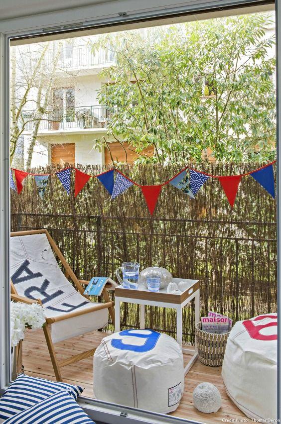50 id es pour profiter de son balcon l 39 abri des regards balcon balcon d coration balcon - Isoler son jardin des regards ...