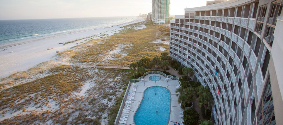 The Island House Hotel In Orange Beach Alabama Take A Break From It All And