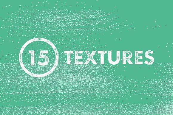 Stipple Grunge Textures by LukasFlekal on Creative Market