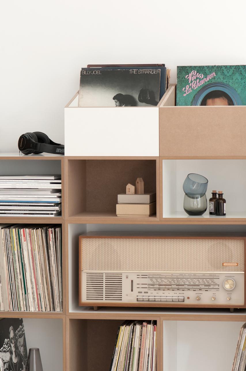 schallplattenregal inspiration regalsystem schallplatten regalmodul einrichten wohnen musik vinyl - Schallplattenregal