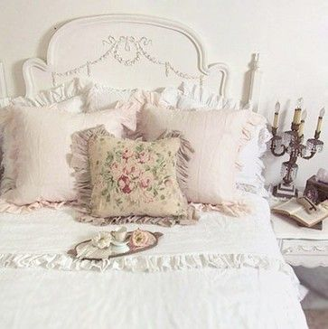 Shabby Romantic Chic Room - eclectic - bedroom - los angeles - The Bella Cottage