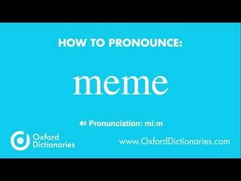 How To Pronounce Meme How To Pronounce English Words How To Pronounce Meme