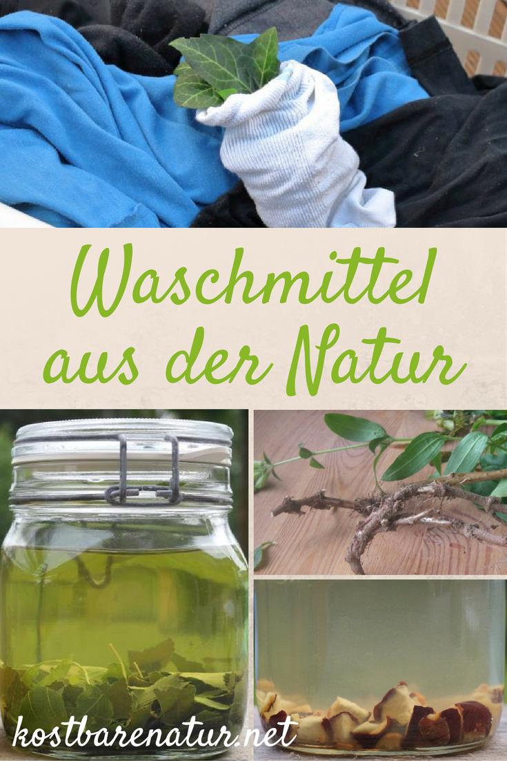 bio waschmittel aus der natur selber machen wildpflanzen im haushalt pinterest es. Black Bedroom Furniture Sets. Home Design Ideas