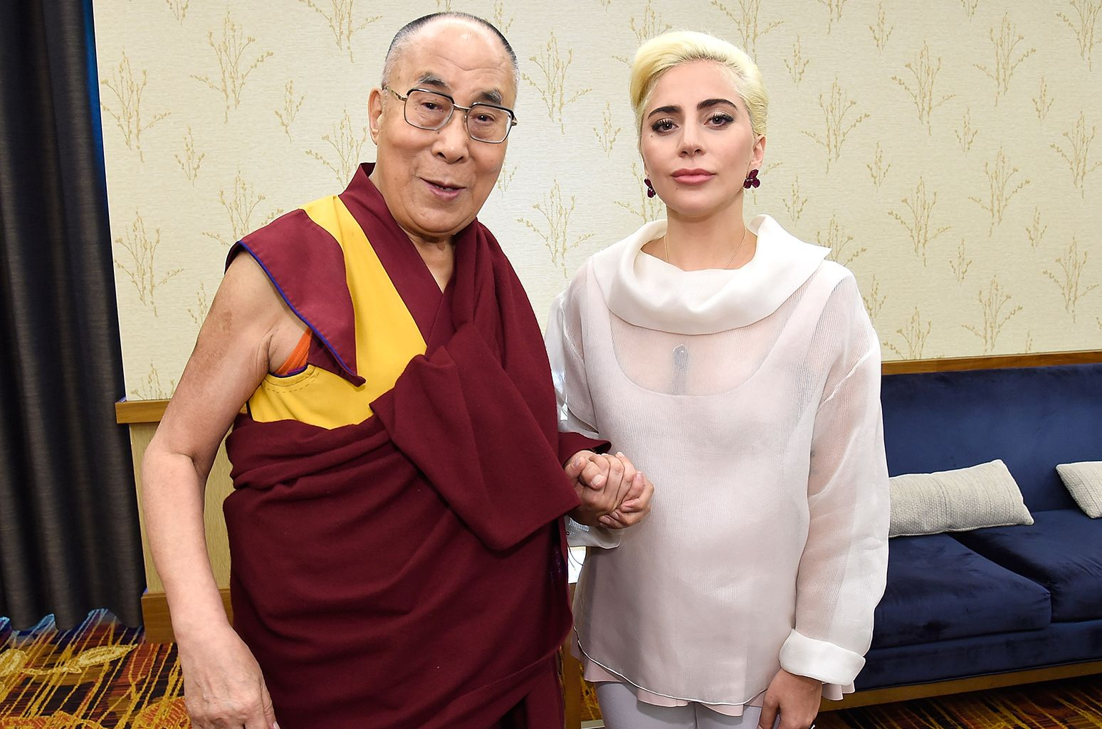 Lady Gaga's Dalai Lama Meeting Generates Backlash in China