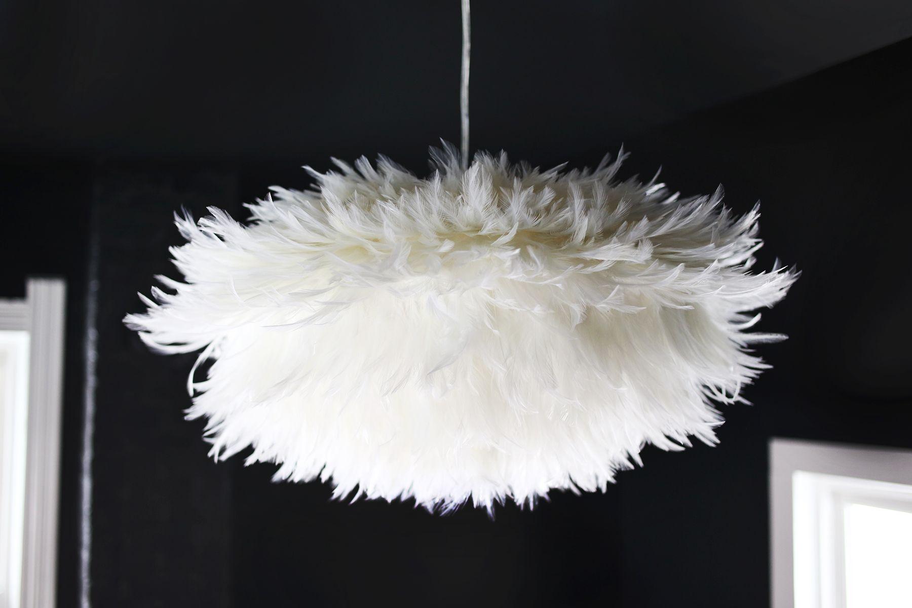 DIY Feather Pendant abeautifulmesscom DIY Feather Pendant