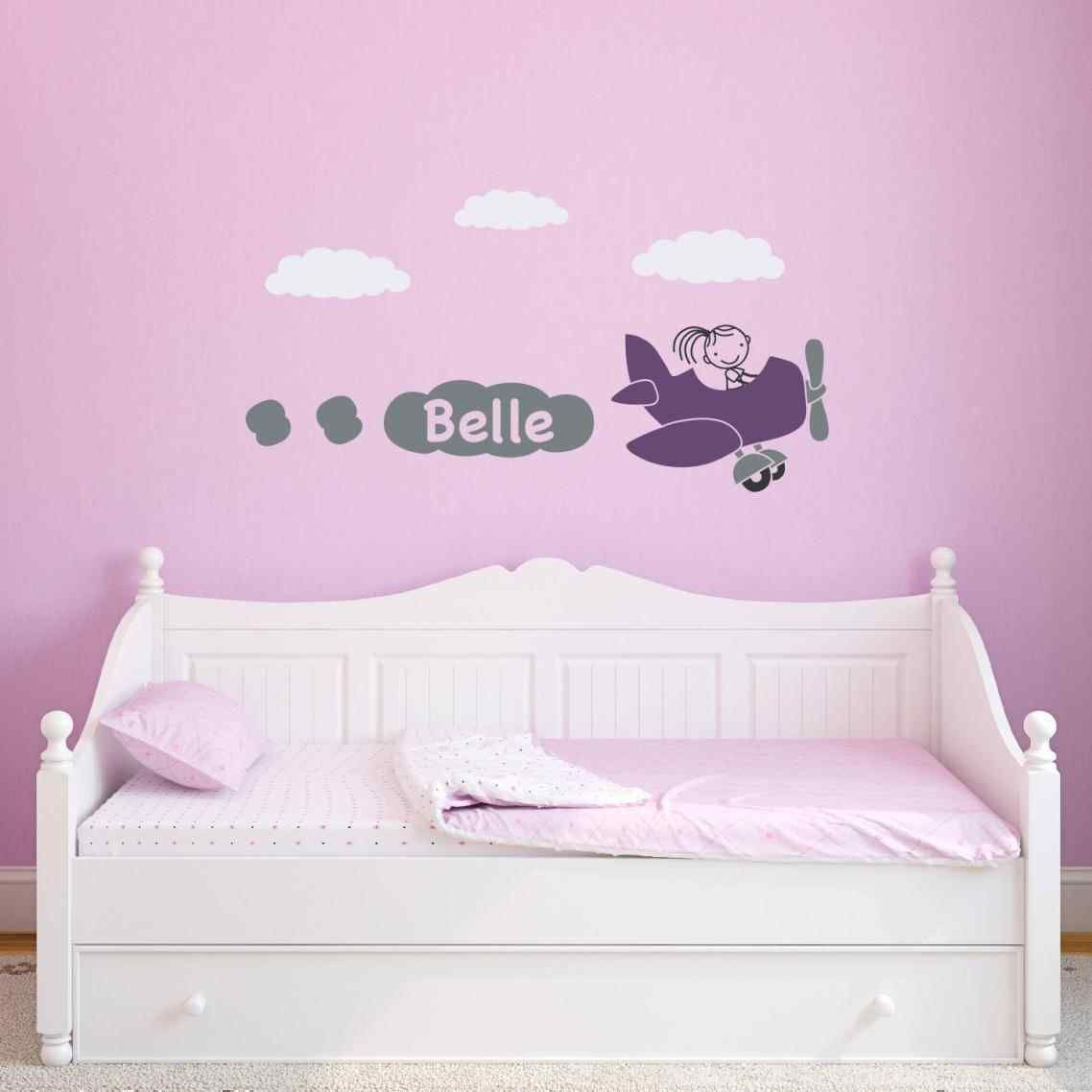 Master bedroom for single woman  wall decals for girl bedroom pj masks in wall crack kids boy girls
