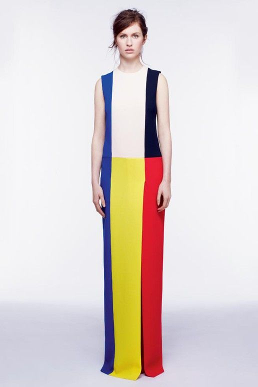 Roksanda Ilincic Pre-Fall 2012 - Bauhaus