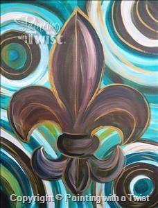 Circle Fleur de Lis | 2/9/2012 - Prairieville, LA