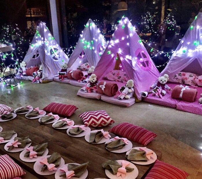 Christmas Slumber Party Ideas Part - 16: Gorgeous Idea For Little Girlsu0027 Sleep Over. Iu0027m Not Big On The Whole  Sleepover Thing,but I Enjoyed The One I Had This Summer.