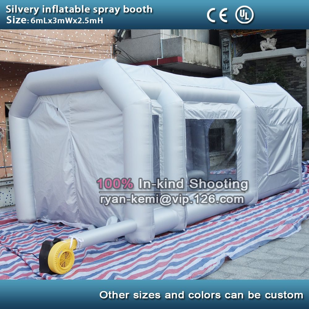 inflatable spray booth inflatable paint booth inflatable car spray booth inflatable paint workshop with blowers- & inflatable spray booth inflatable paint booth inflatable car spray ...